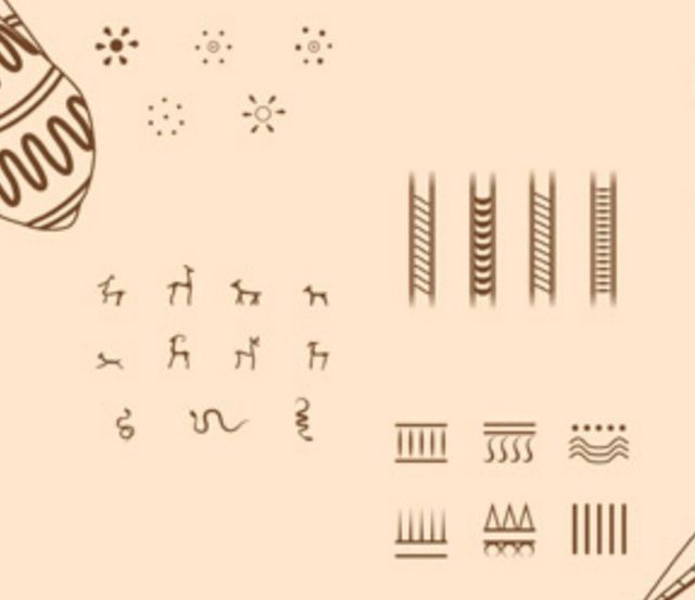 These are the most common motifs found in the Ancient Thracian female tattoos. Photo: National Institute and Museum of Archaeology / Burgas Regional Museum of History