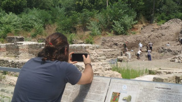 The Aquae Calidae - Thermopolis Archaeological Preserve in Bulgaria's Black Sea city of Burgas features an observation platform from where visitors can enjoy the excavations of ancient thermae (public baths). Photo: Burgas Regional Museum of History
