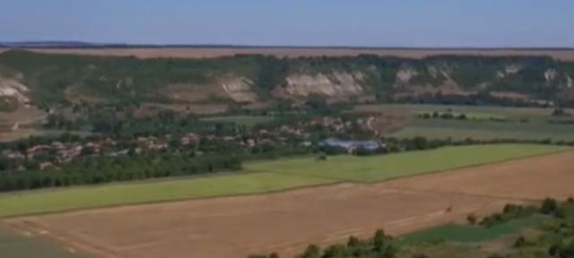 The field near the town of Dryanovets in Northeast Bulgaria where the Battle of Abritus between Rome and the Goths took place 1765 years ago. Photo: TV grab from BNT