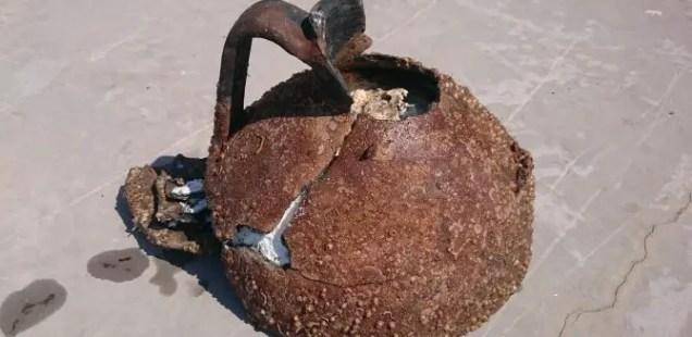 Diver Stumbles Upon Late Antiquity Amphora Containing Palm Oil near Bulgaria's Black Sea Resort Sozopol