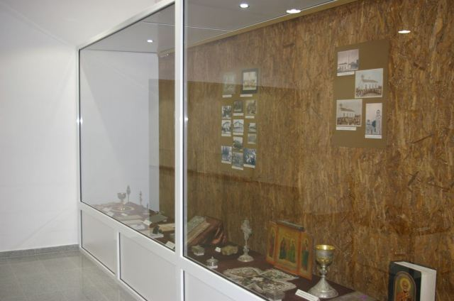 A renovated exhibition of Christian artifacts. Photo: Montana Regional Museum of History