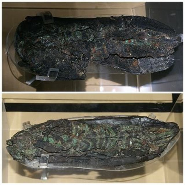 1,900-Year-Old Female Leather Shoes Unveiled for the First Time in Exhibition in Bulgaria's Sliven