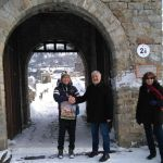 Japanese Man Becomes 1st Visitor of Tsarevets Fortress in Veliko Tarnovo, Bulgaria's Cultural Sites for 2017