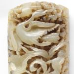 Nephrite Amulet Buckle from China Discovered in Bulgaria's Black Sea Kaliakra Cape Fortress