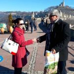 Record Number of Tourists Visit Tsarevets Fortress in Bulgaria's Veliko Tarnovo on January 1, 2018