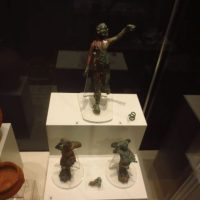 Archaeologists Discover Bronze Dionysus, Eros, Cupid Statuettes from Ancient Serdica in Downtown of Bulgaria's Capital Sofia