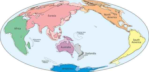 Zealandia, Giant Landmass under New Zealand, Could Be Planet Earth's 8th Continent