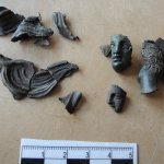 Oldest Ancient Greek Relic in Slovakia, Bronze Breastplace from Italy's Taranto, Discovered at Celtic Sacrificial Site