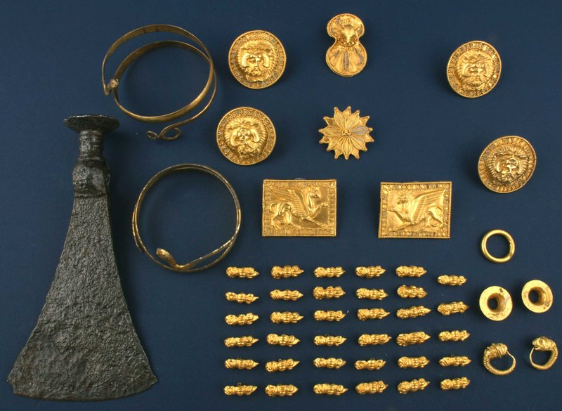 Ancient Thracian Kralevo Gold Treasure - Kralevo, Targovishte District, Bulgaria