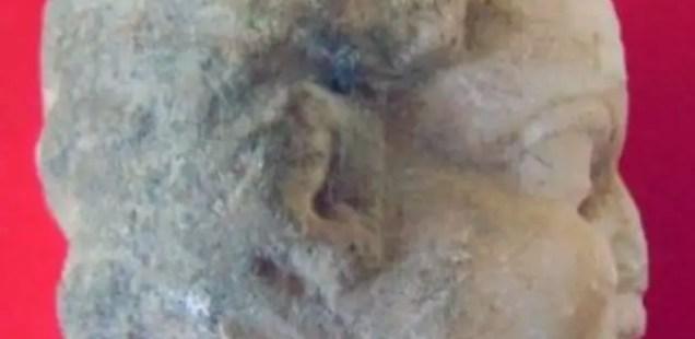 3rd Century AD Marble Child Head, Ancient Chamber Pot Discovered in Roman City Novae near Bulgaria's Svishtov