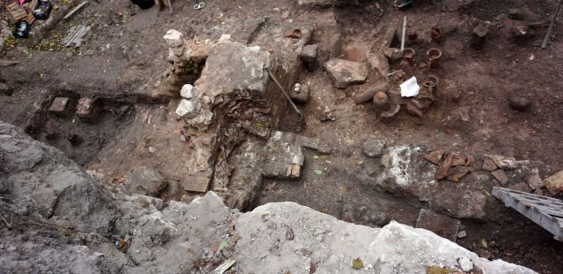 5th Century AD Byzantine Thermae (Public Baths) Discovered in Downtown of Bulgarian Black Sea City Varna
