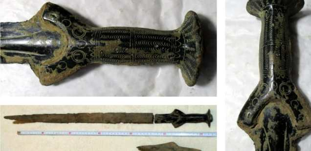 3,300-Year-Old Bronze Age Sword, Ax Found by Accident in Northern Czechia