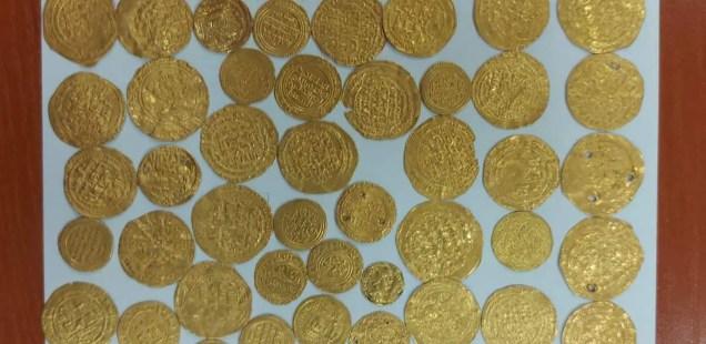 Turkish Smuggler Caught with Dozens Byzantine, Persian Gold Coins at Bulgaria-Turkey Border