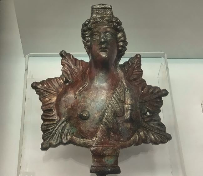 Bronze Dionysus Chariot Bust, Venus Terracotta Found in Home Burned Down in 251 AD Goth Invasion of Roman Empire in Bulgaria's Plovdiv
