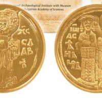Gold Coin of Tsar Ivan Asen II of Second Bulgarian Empire Released by Bulgarian National Bank, Archaeology Museum as Part of Replica Collection
