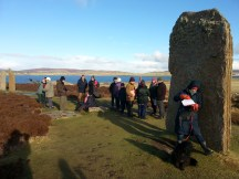 At the Ring of Brodgar
