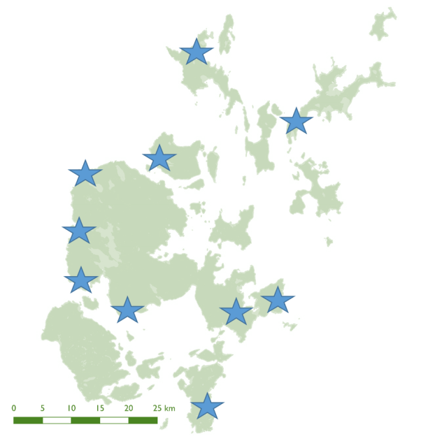 map-of-orkney-showing-sites-used-in-this-study