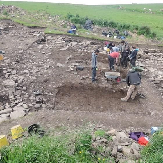 'Trench Q' where we suspect more village buildings lie