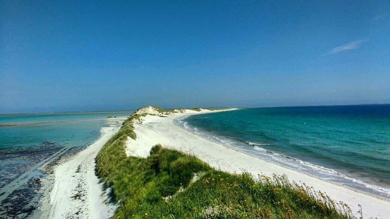 Views of the beach from the dunes...only 2 minutes stroll from the Cata Sand excavation