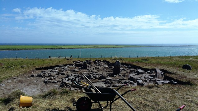 The Loth Road site2, Sanday
