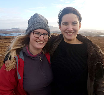 Dr Emily Gal (left) and Dr Rebecca Rennell.