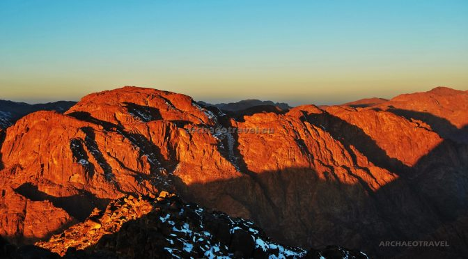 Mount Sinai Trekking in Search of the God at Sunrise