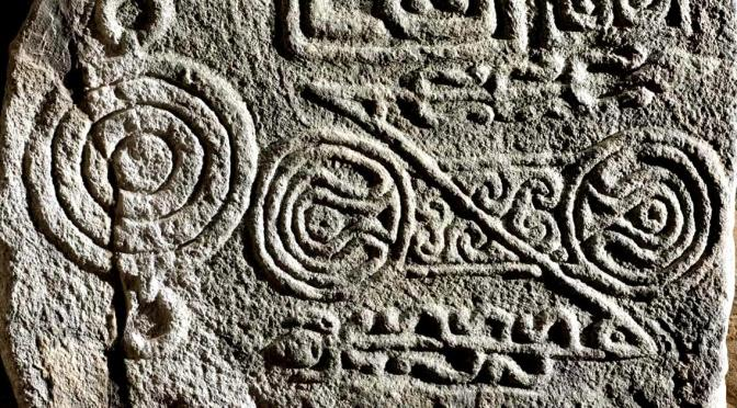 Pictish Symbol Stones: from Pagan Beast to the Cross