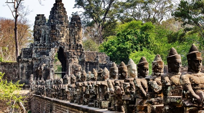 Through the Passageway of the Khmers' Stargate of Angkor Tom