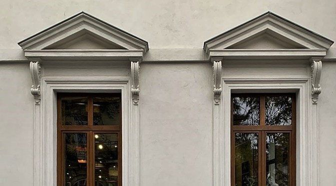 Pediment as an Ornament in Architecture