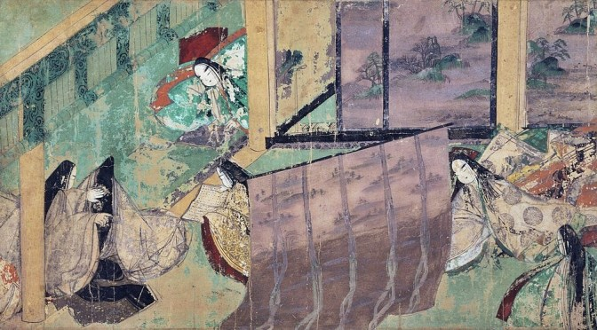 Yamato-e in the National School of Japanese Paintings