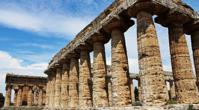 Doric Order in Ancient Greek and Roman Architecture