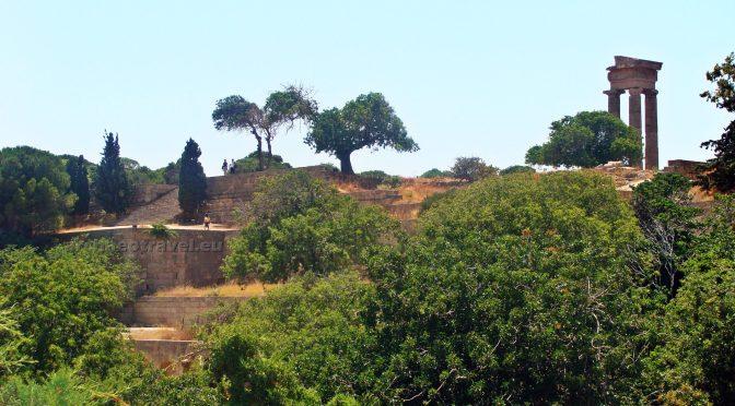 Apollo at the Top of the Acropolis of Rhodes
