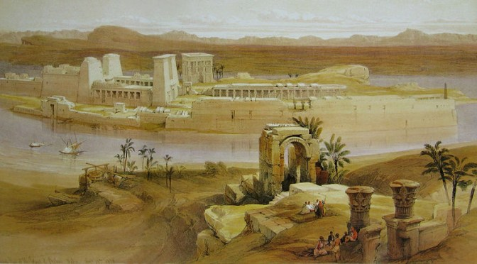 Sacred Enclosure of Abaton in the Ancient World