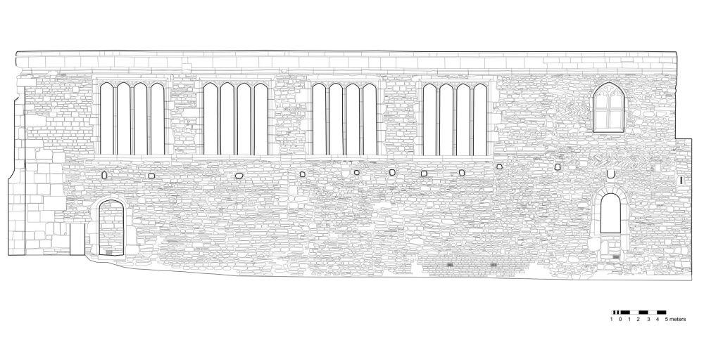 Deerhurst South Wall CAD