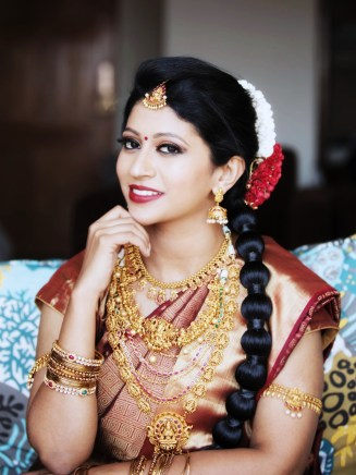Hindu Bridal Make Up using MAC