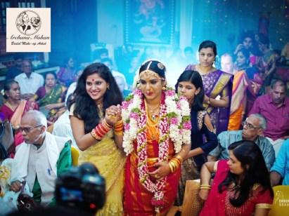 MAC Tamil Brahmin Wedding look