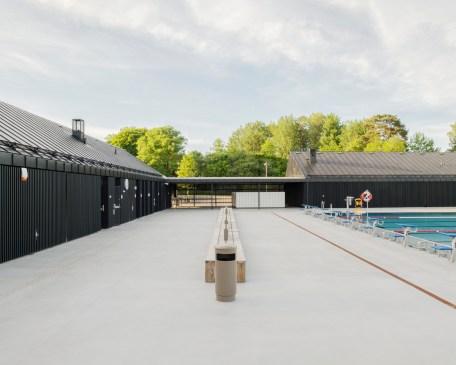 Järvabadet Swimming Pool Pavilion / AIX Arkitekter