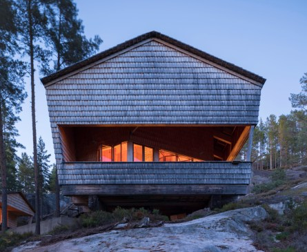 The Cuckoo's Nest Cabin / Hoem + Folstad Arkitekter