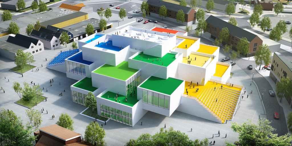 Lego House(Archinect)