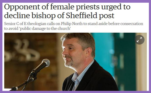 If Philip North can't be Bishop of Sheffield, the Church of England ceases to be catholic
