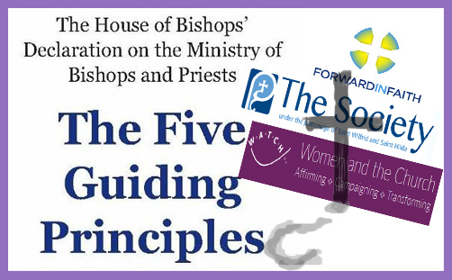 Women bishops: the desperate and disingenuous distinction in the Five Guiding Principles