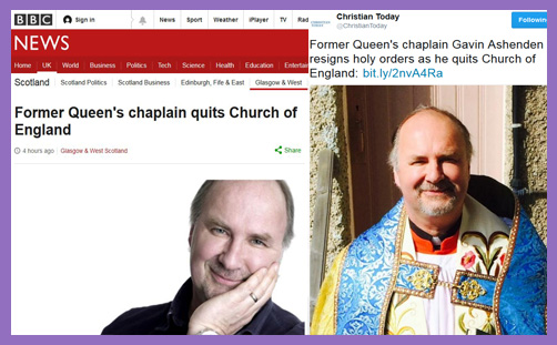 As Gavin Ashenden leaves the Church of England, the Ordinariate circles like a vulture