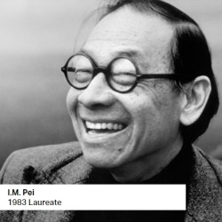 I.M. Pei 1983 Laureate