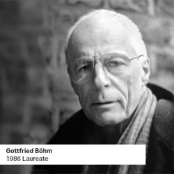 Gottfried Bohm 1986 Laureate