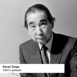 Kenzo Tange 1987 Laureate
