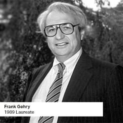 Frank Gehry 1989 Laureate