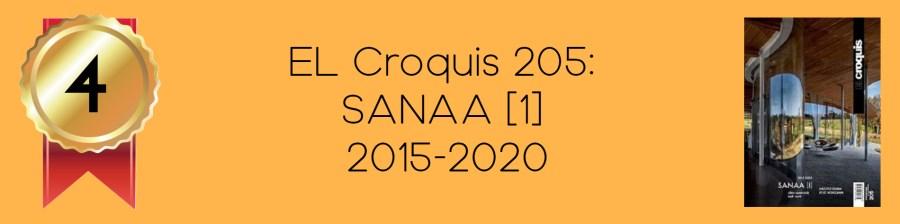 NO.4 EL Croquis 205: SANAA [1]
