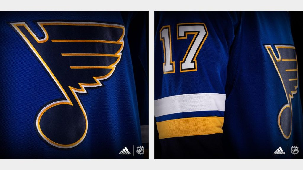 e6c268dd286 Blues Unveil New Adidas Jersey For 2017-18 Season | ArchCity.Media