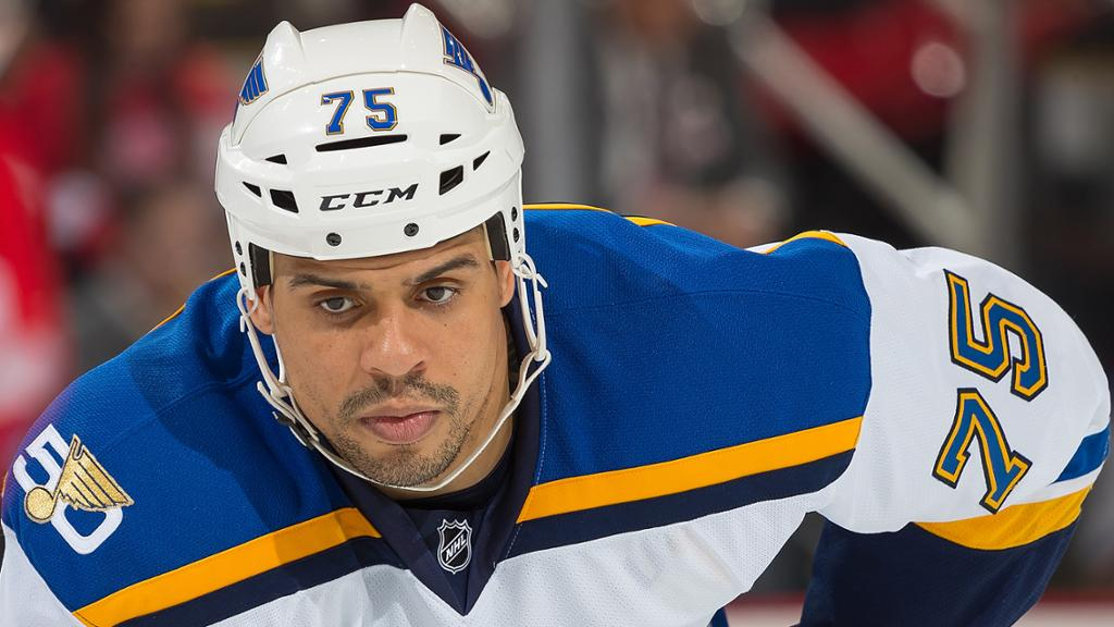 best service f1cdc 08d42 Ryan Reaves and What He Meant to St. Louis Blues Fans ...
