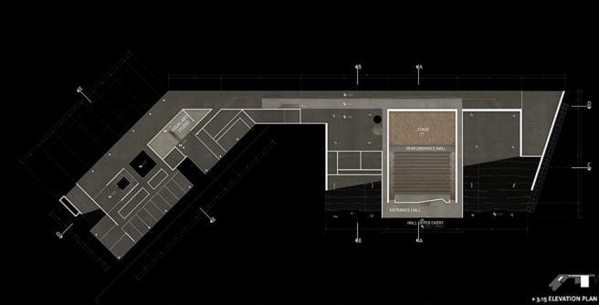 +3.15 Elevation Plan | Courtesy of Suyabatmaz Demirel Architects